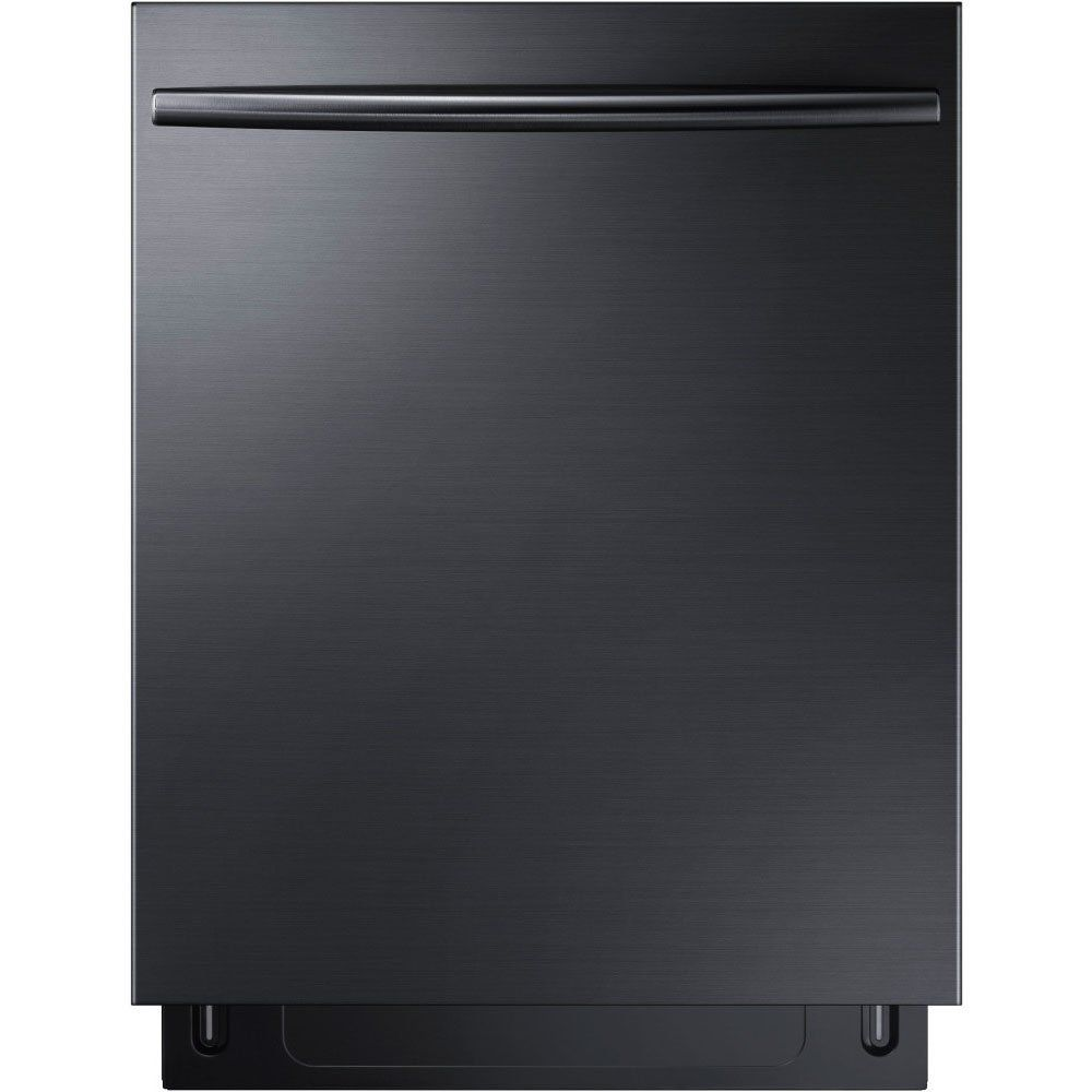 Samsung Appliance Dw80k7050ug 24 Black Stainless Steel Series Built In Fully Integrated Dis Fully Integrated Dishwasher Integrated Dishwasher Black Dishwasher