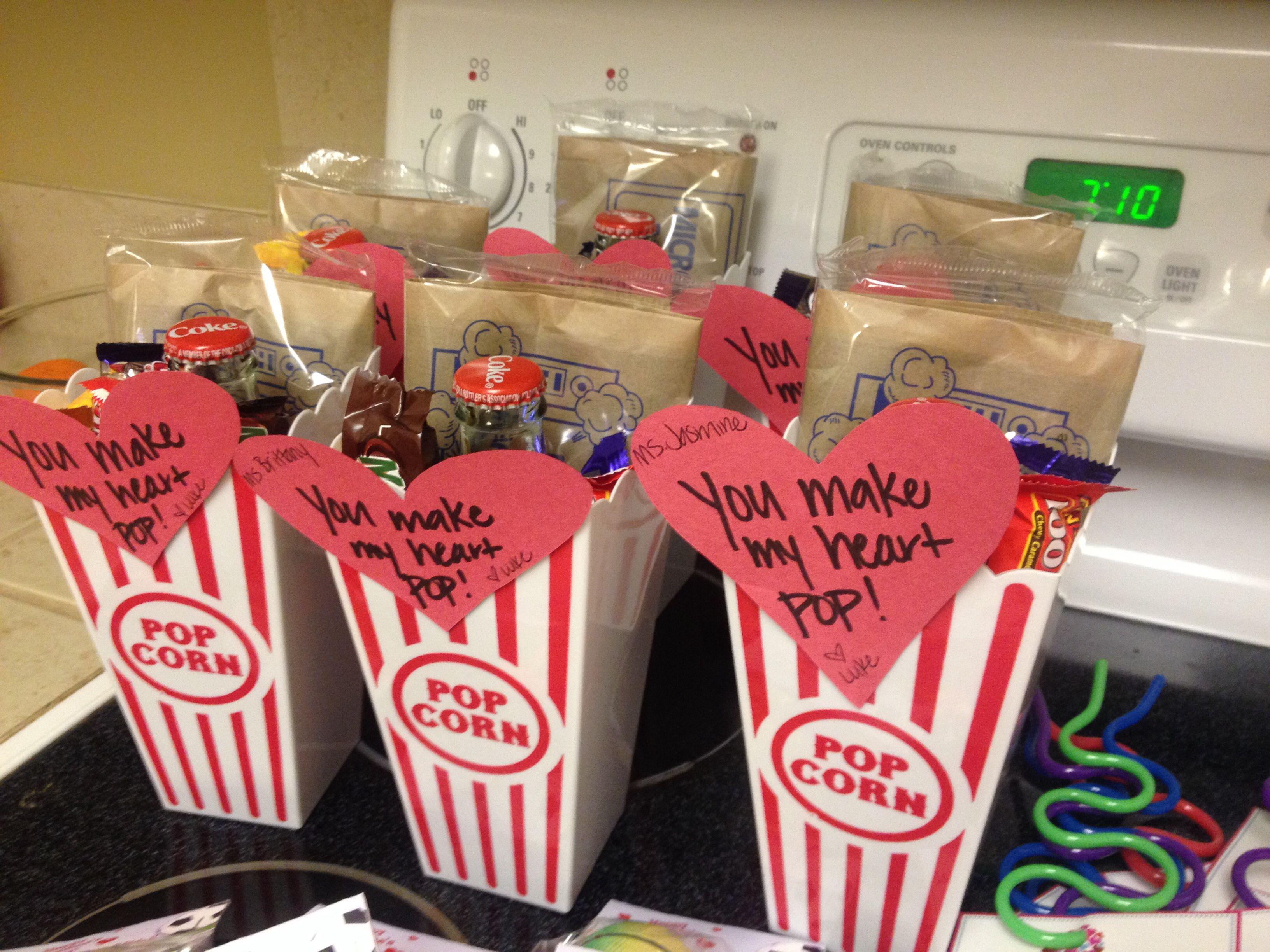For Luke S Teachers Popcorn Buckets From Dollar Tree Bag Of