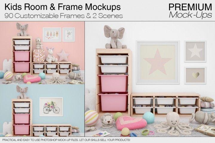 Kids Room  Frames Pack By Mockups Parenting Pinterest Kids