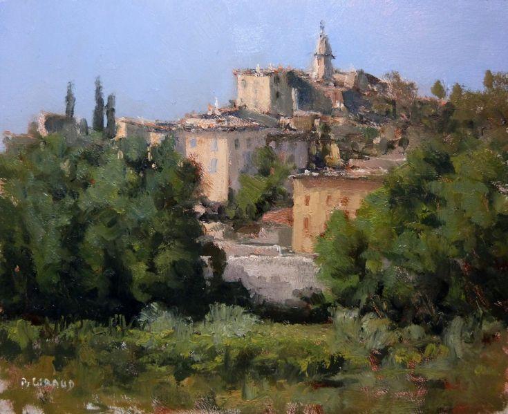 Crillon Le Brave Painting Brave Mont Ventoux