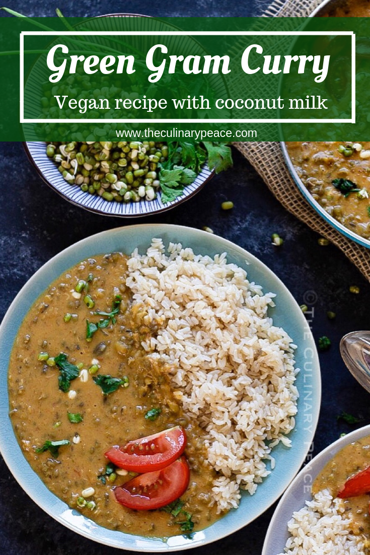 Green Gram Coconut Milk Curry