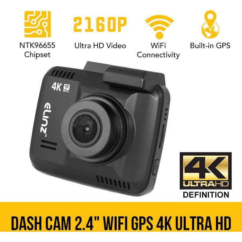 Dash Cam Car Video Camera Recorder 2160P WiFi GPS HDMI 150