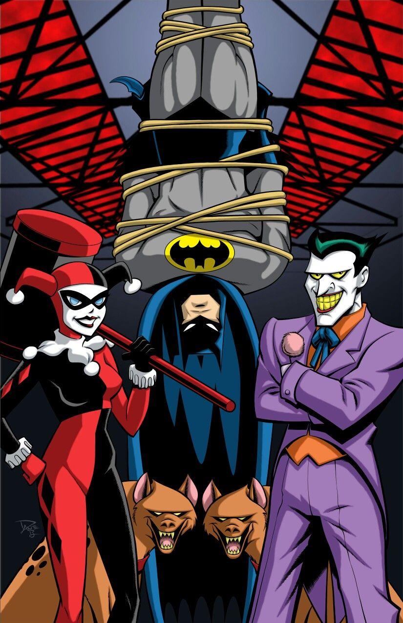 Batman Animated Series Style Art By Dave Beaty Batman Pictures Batman Cartoon Joker Cartoon