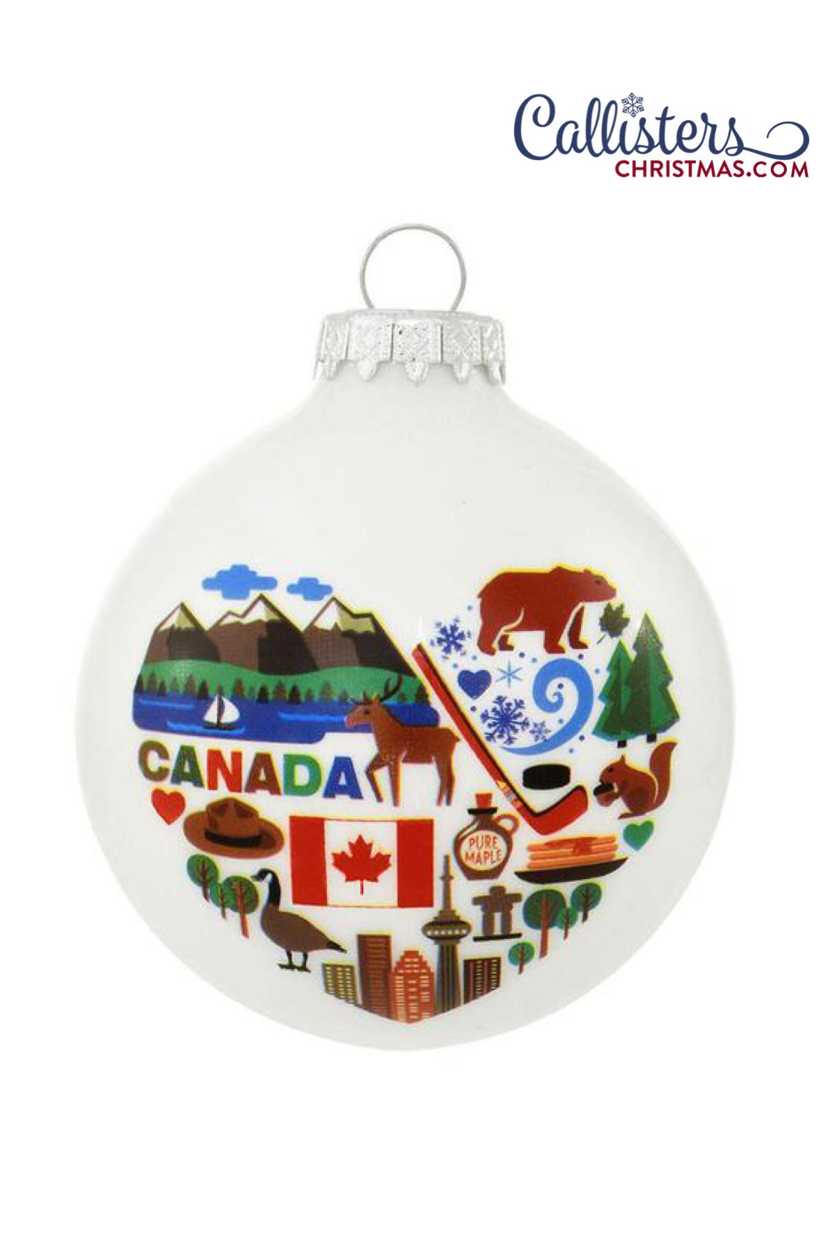 Canada Ornament Old world christmas ornaments, Ornaments