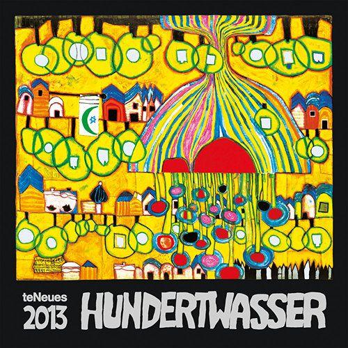 Hundertwasser Art 2013 Wall Calendar | Art walls, Walls and Organic form