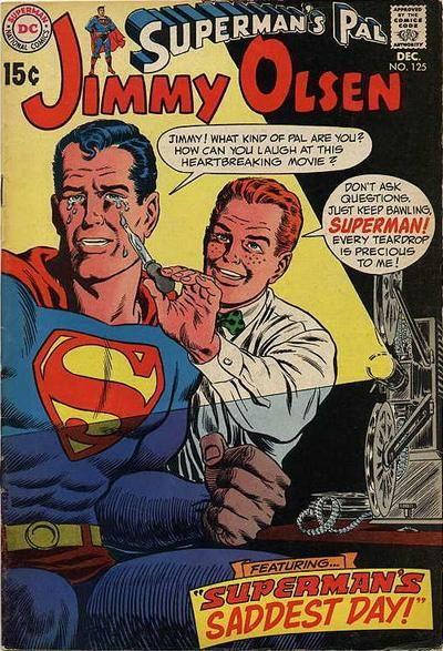 Cover for Superman's Pal, Jimmy Olsen (1954 series) #125