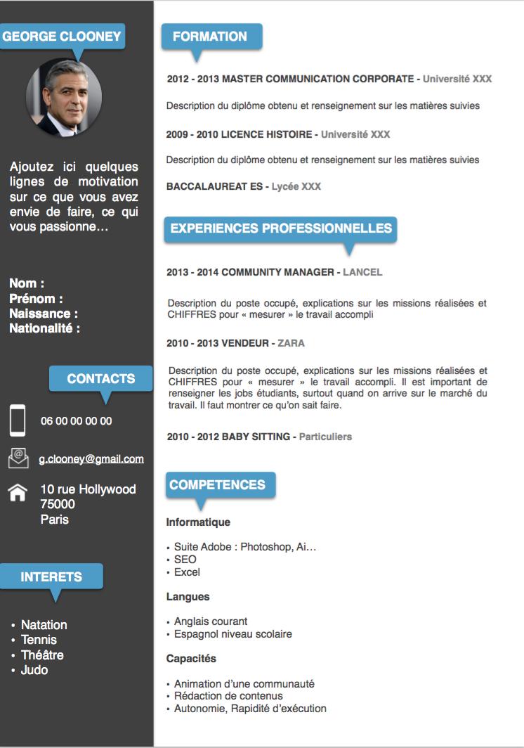 2its Tournai Belgique Societe 2its Creation De Site Internet Exemple Cv Exemple De Cv Etudiant Cv Etudiant
