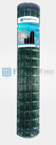 Fencer Wire Garden Vinyl Fence 16 Gauge Green 36x50 3x2 You Can Find More Details By Visiting The Image Link Vinyl Fence Fencer Wire Vinyl