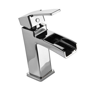 Shop Pfister Kamato Polished Chrome Single Centerset WaterSense Labeled  Bathroom Sink Faucet (Drain Included) At Loweu0027s Canada.