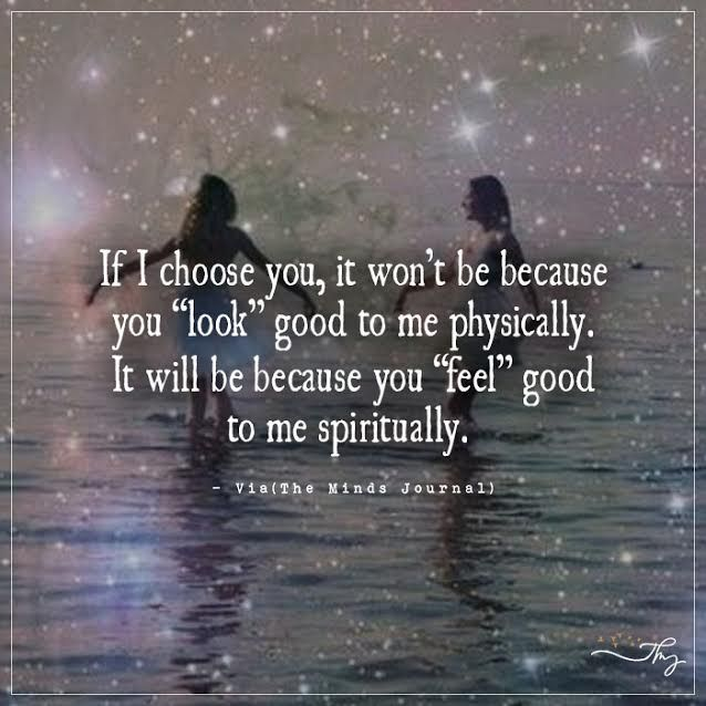 Spiritual Love Quotes: Feel Good To Me Spiritually