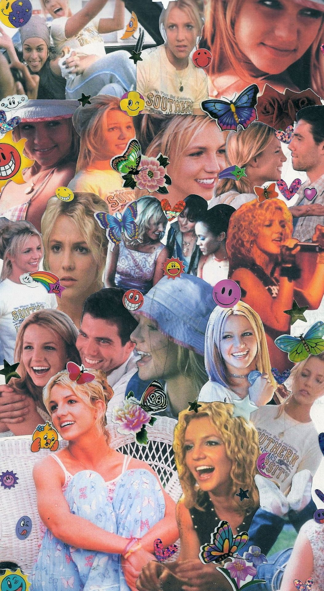 View Britney Spears Wallpaper Collage Wallpapers