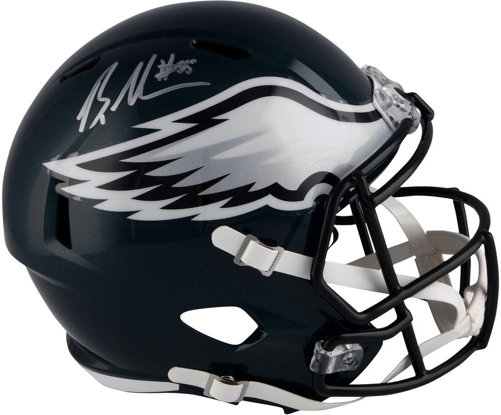 Brandon Graham Eagles Signed Riddell Speed Super Bowl LII Champs Replica Helmet | Football ...