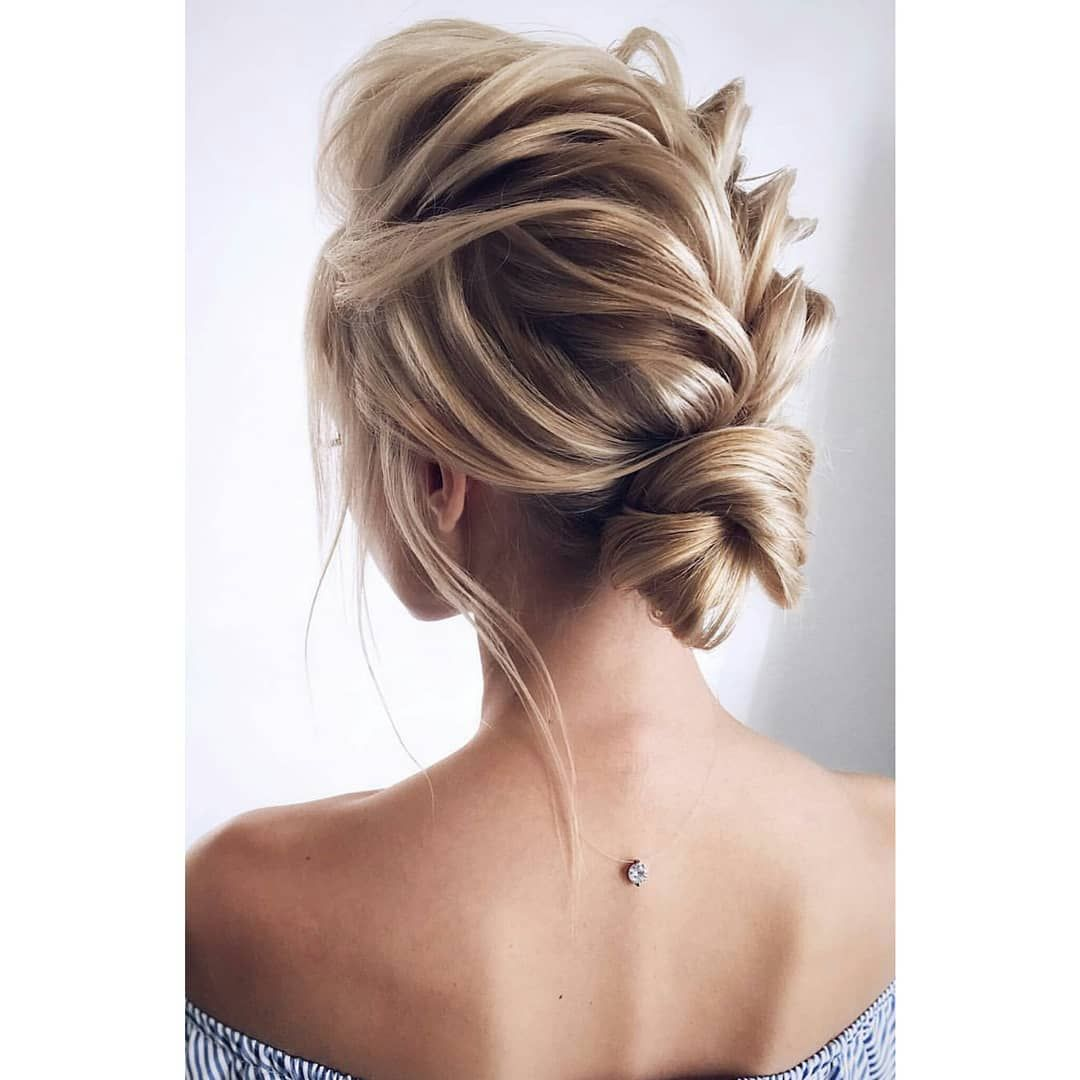20 Inspiration Low Bun Hairstyles For Wedding 2019 2020: 20 Stylish Updo Hairstyles That You Will Want To Try