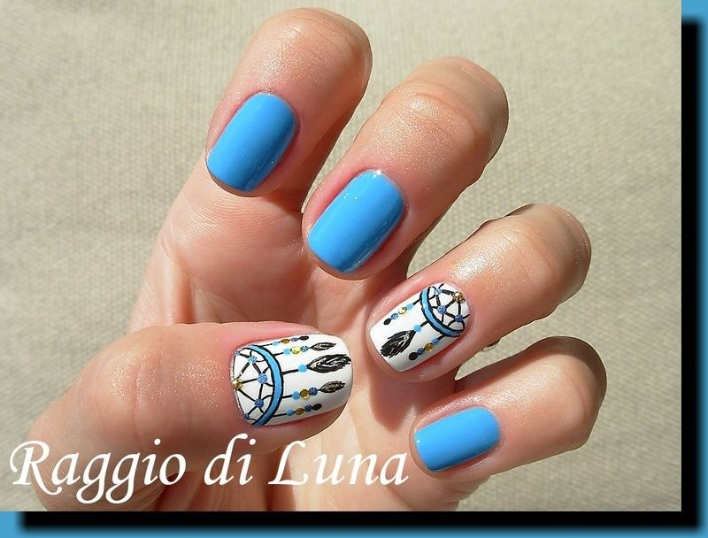 spring dream catcher nails | Join the world's largest community of nail art  lovers. - Spring Dream Catcher Nails Join The World's Largest Community Of