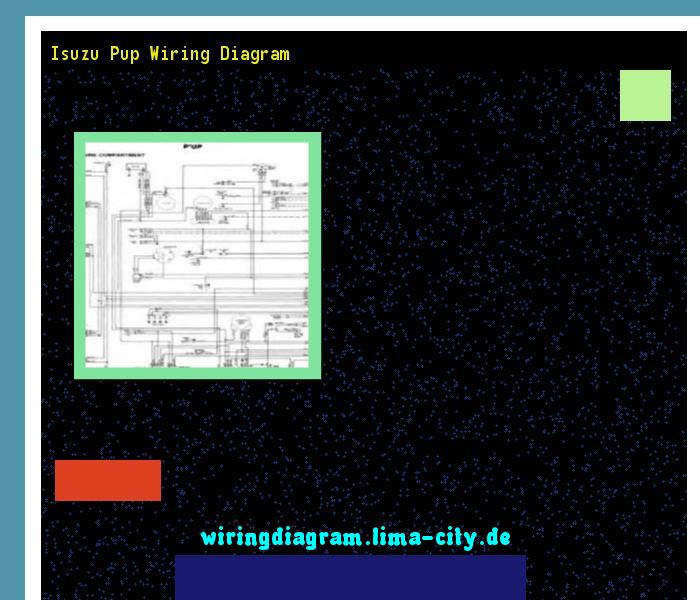 Isuzu Pup Wiring Diagram  Wiring Diagram 174854