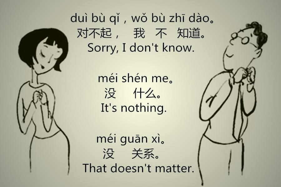 How To Say Sorry In Chinese Chinese Language Words Chinese Lessons Chinese Language Learning