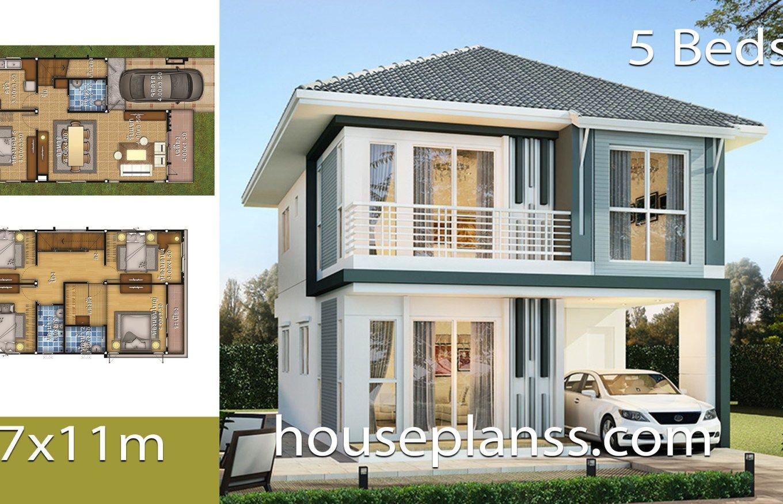 House Plans Idea 7x11 With 5 Bedrooms House Plans S House Construction Plan 5 Bedroom House Plans House Plans