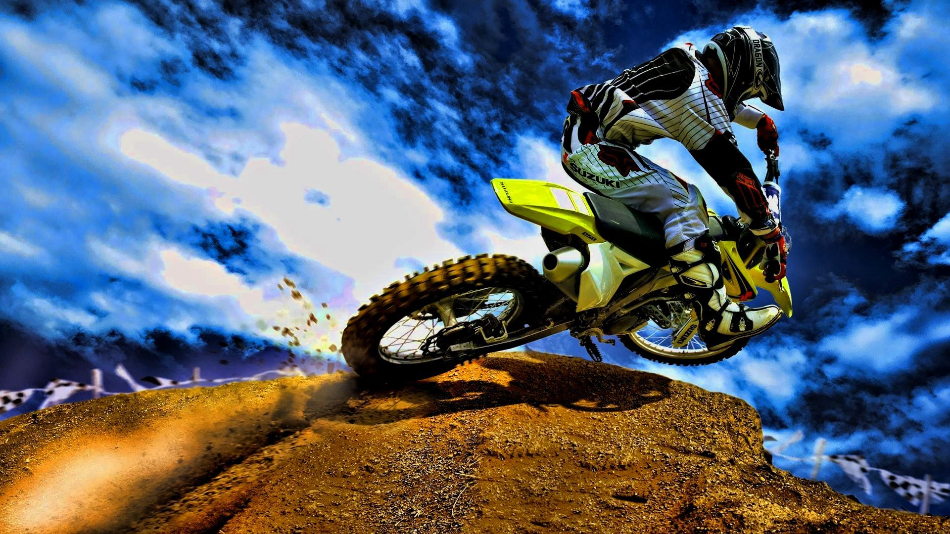 Walpaper Motocross Mobil