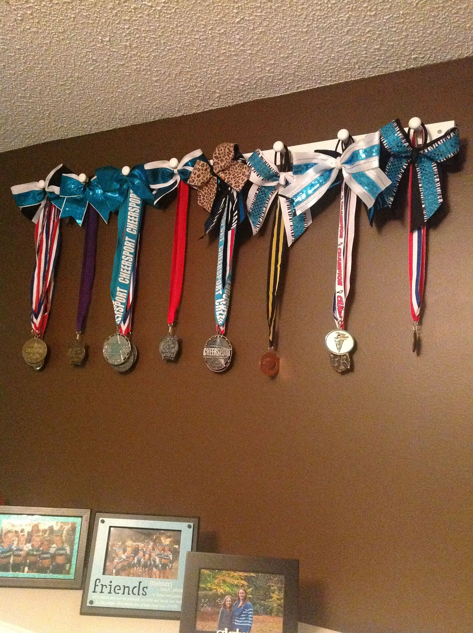 Peg Strips From Loweu0027s Great Way To Display Medalu0027s And ...
