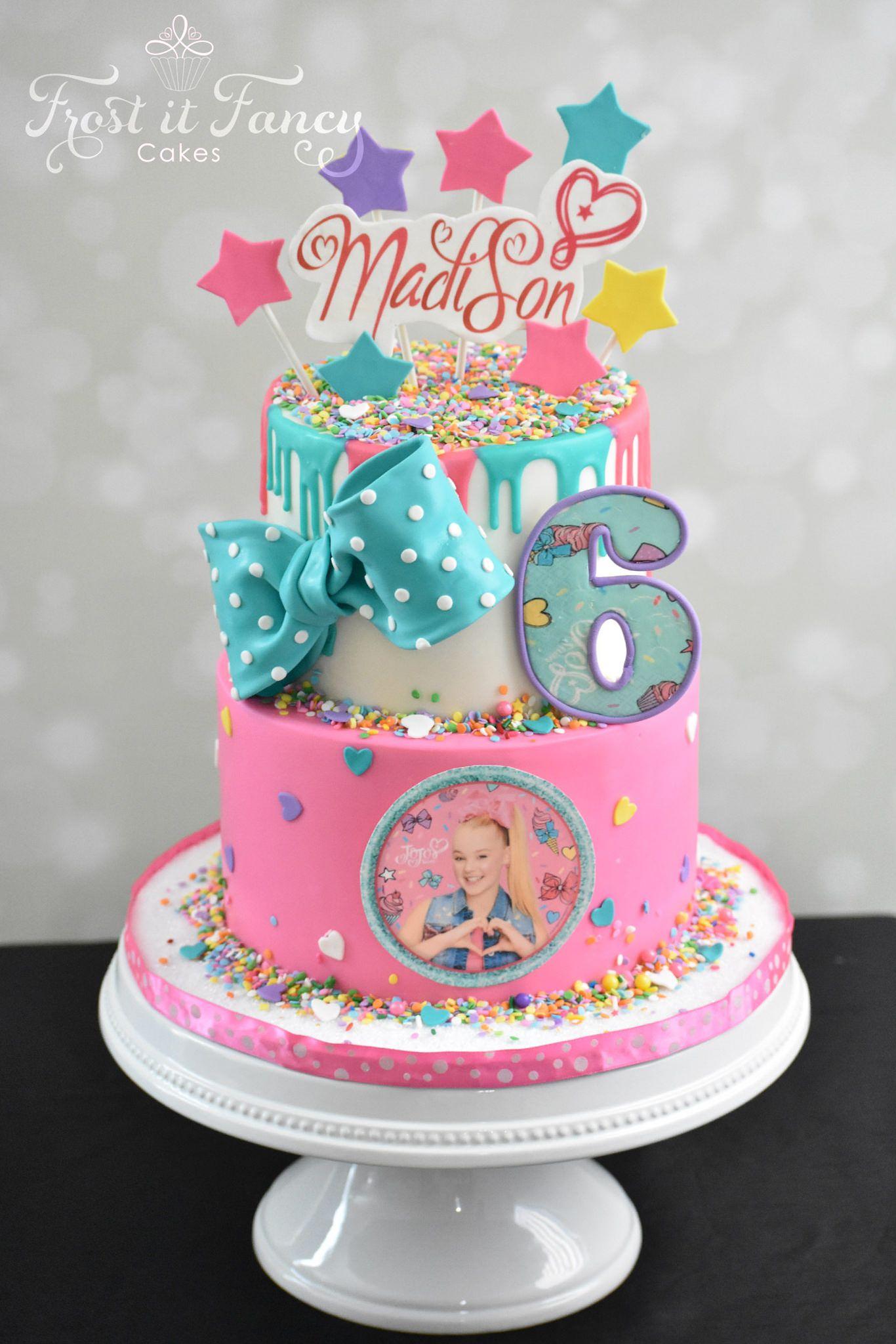 Happy birthday madison jojo siwa birthday cake jojo