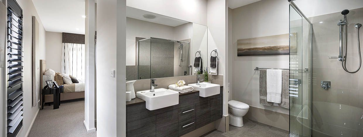 Bathroom Prelude Elite With Modern Facade On Display At Twin Waters South Nowra With Images Home Builders New Homes New Home Designs