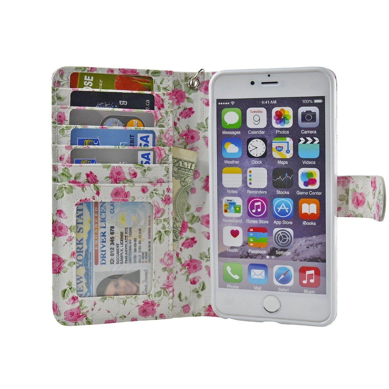 5.5inch iPhone 6/6S Plus Wallet Case Navor Iphone 6