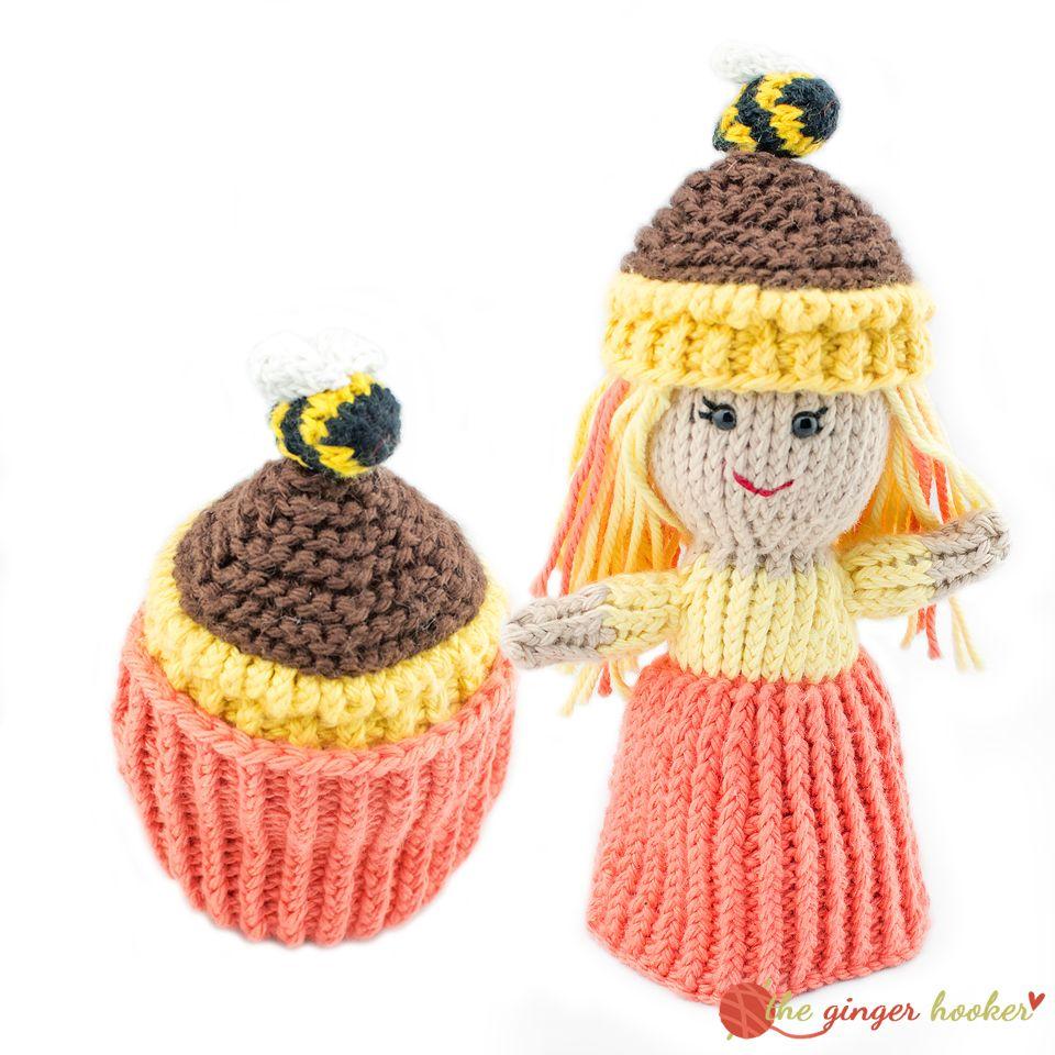 Cupcake Topsy Turvy Doll Knit Pattern Knits Dolls Knitting