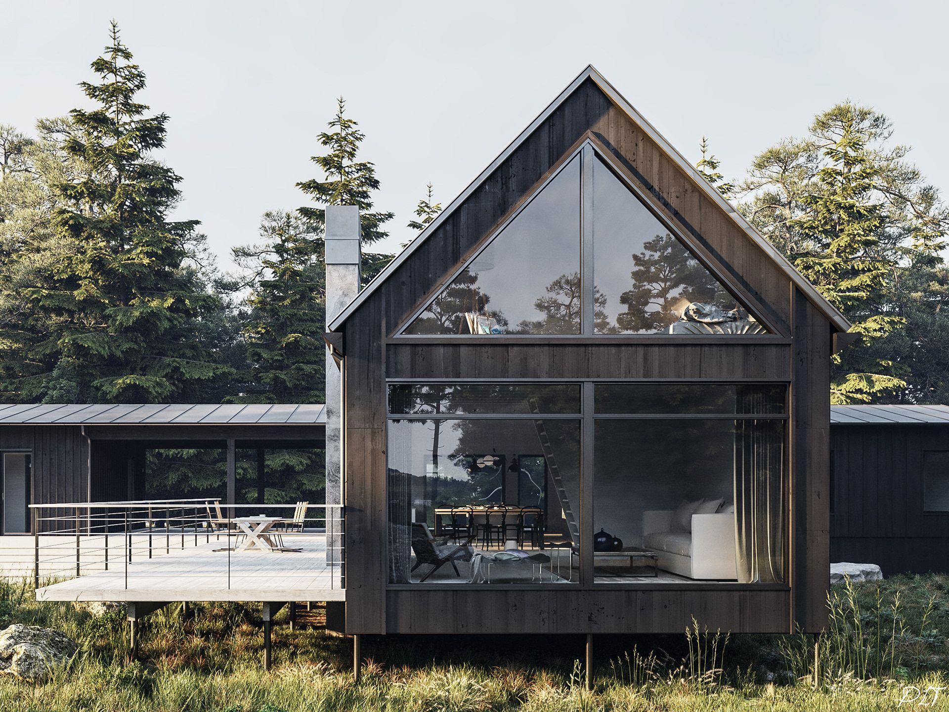 Architecte Le Mans cover sommarhus kod arkitekter foto mans berg on behance en