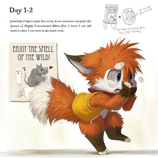 EF19 Diary Day 1-2 b...