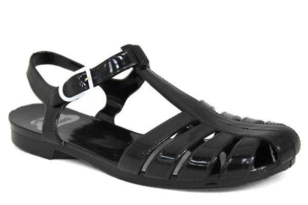 JuJu Grace Ankle Strap Rubber Jelly Sandals - £14.99