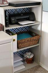 Heimbüro enthüllen  Ein Raum Herausforderung Woche 6