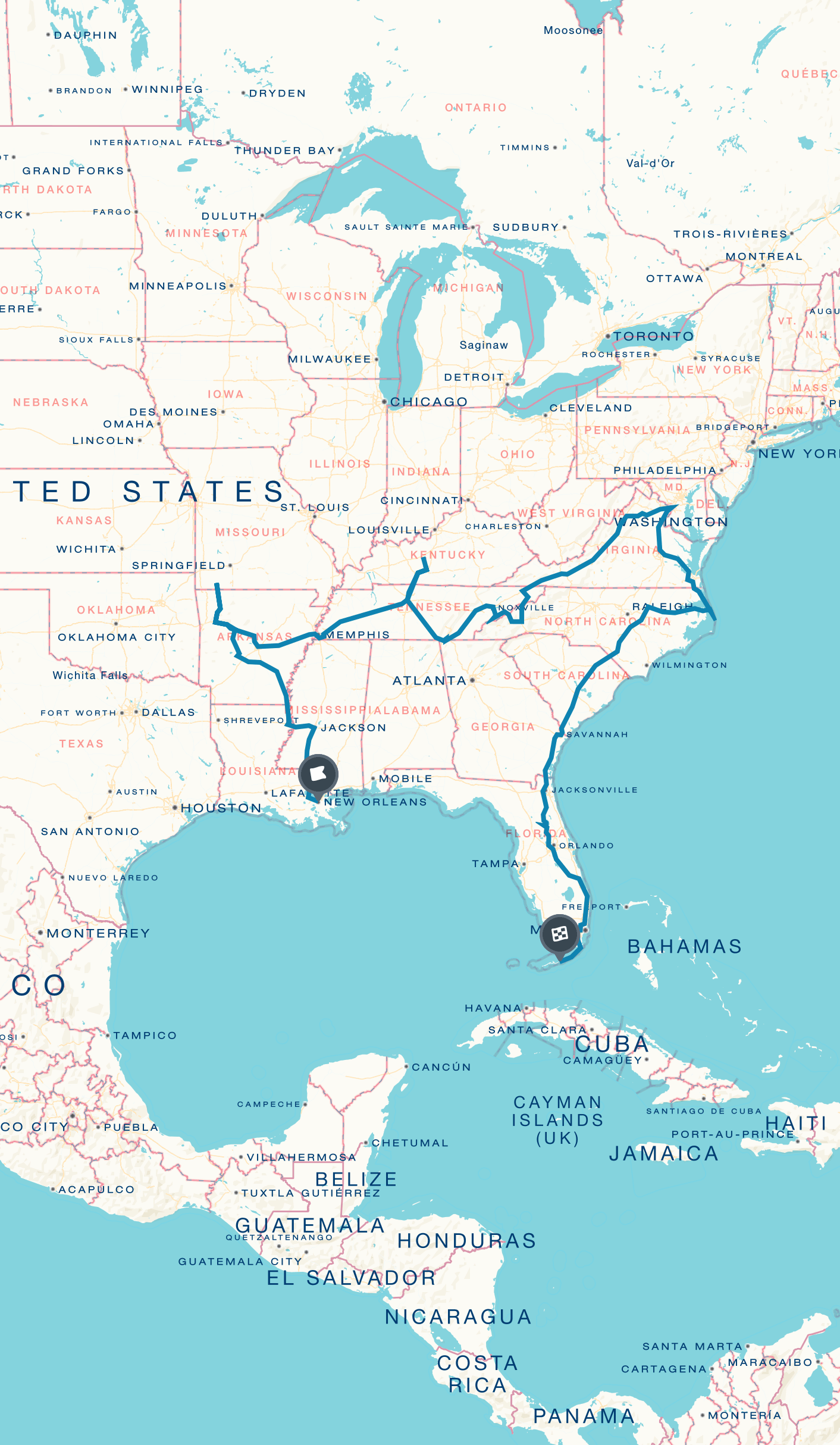 American castles and natural wonders: A Southeast road trip ...