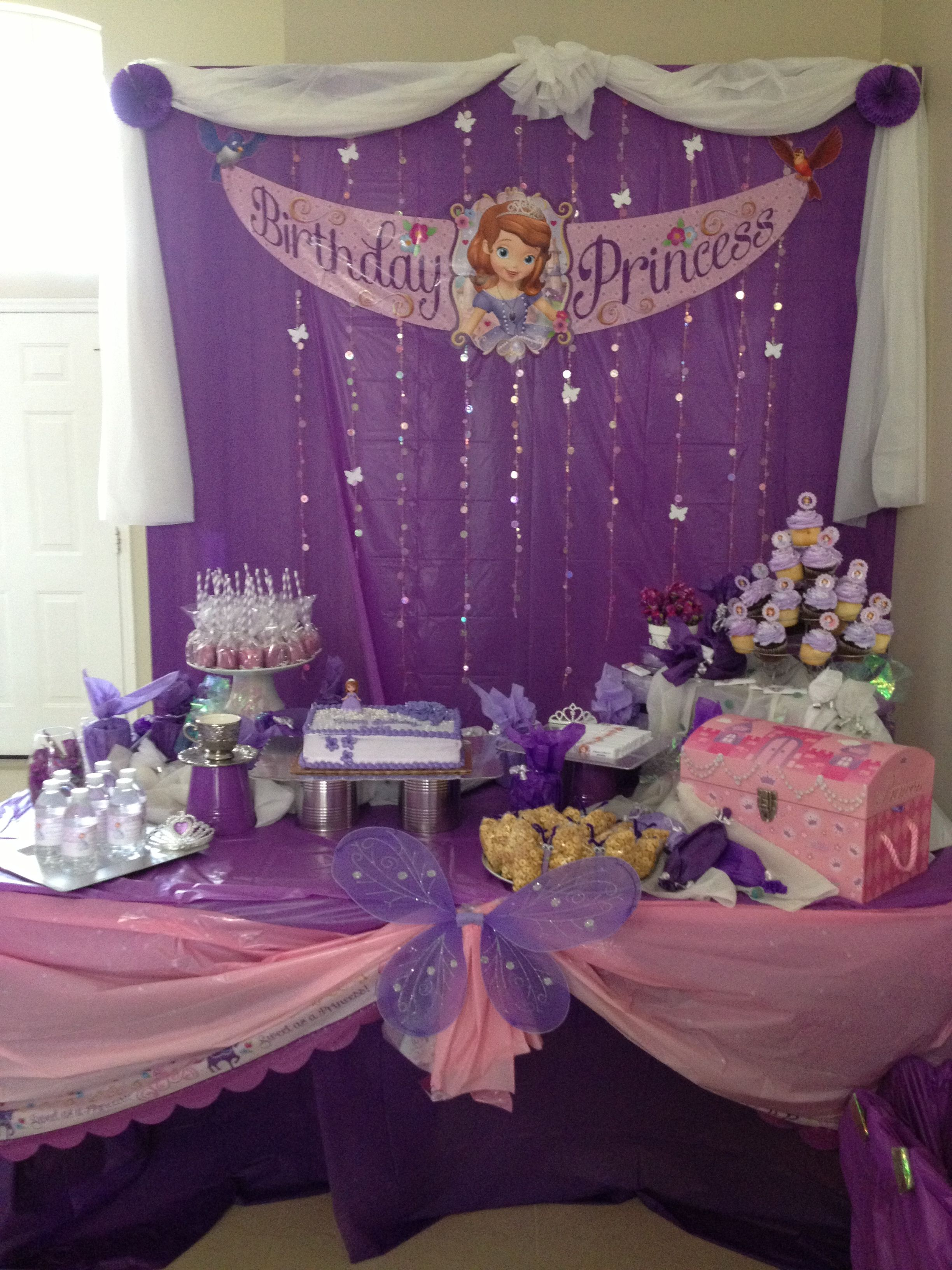 candy buffet ideas for Sofia the first!!!!!!!!!!!!!!!! | Party ...