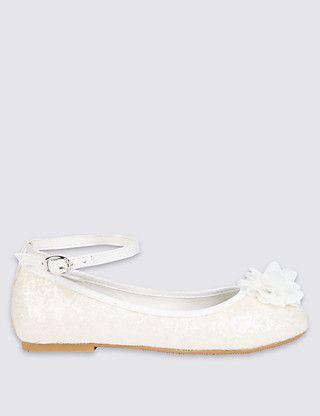 8a34ed41994d Kids' Glitter Ballerina Bridesmaid Shoes | Wedding | Bridesmaid ...