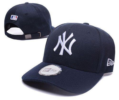 166a0bd8e8a New York Yankees Curved Brim Caps Adjustable Hats 009