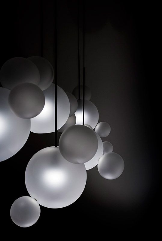 Bolle Frosted Chandelier BLS24Z