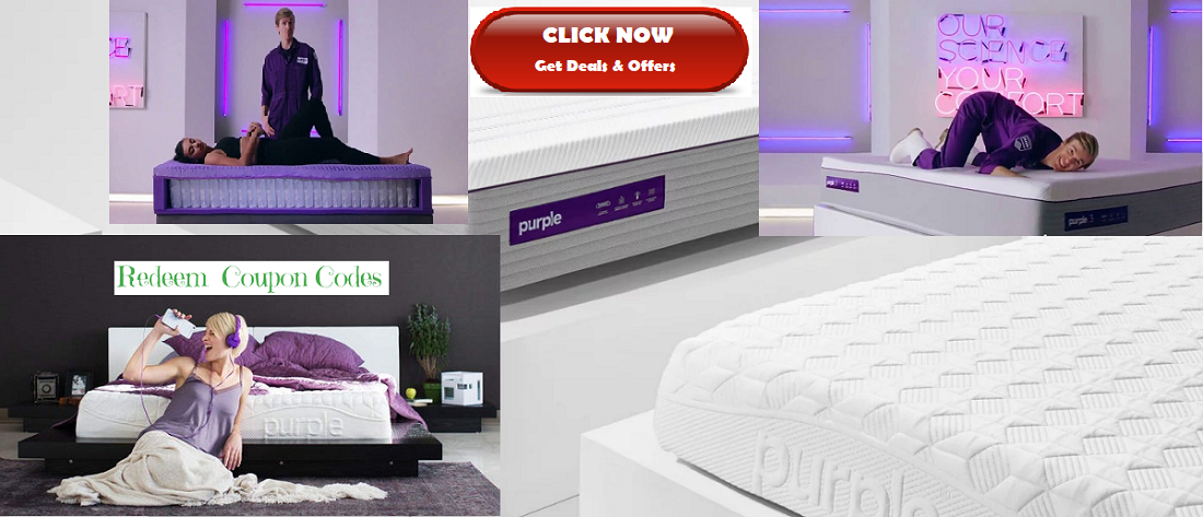 Get PurpleMattress from amazon and get discount by redeem