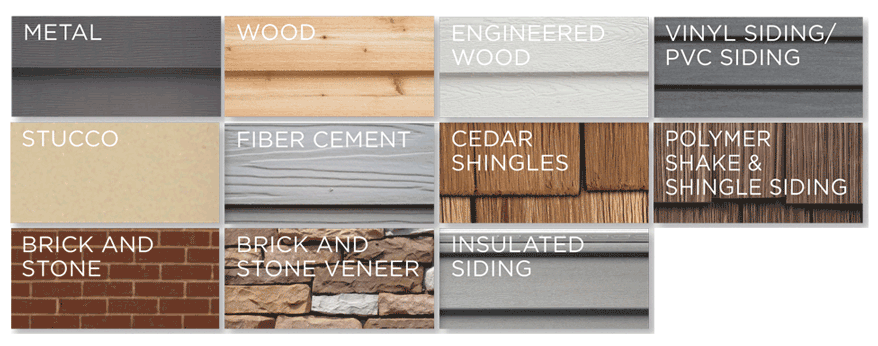 Exterior Cladding Vinyl Siding Aluminum Wood Shakes And