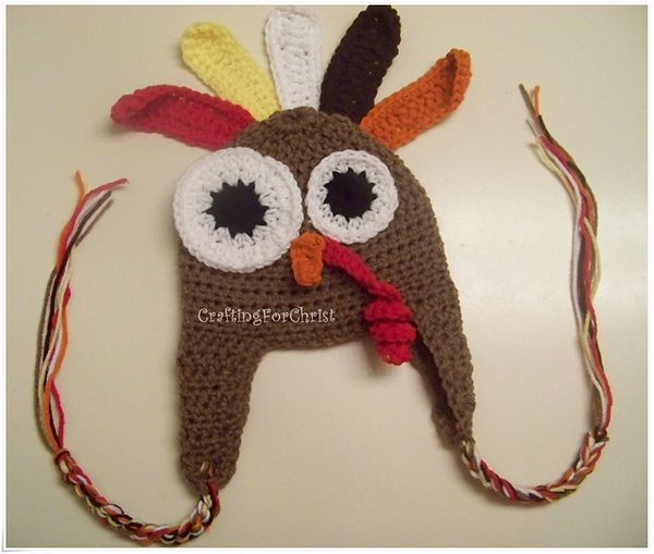 Thanksgiving Hat Crochet Patterns For All Ages Crochet Patterns Crochet Character Hats Turkey Hat
