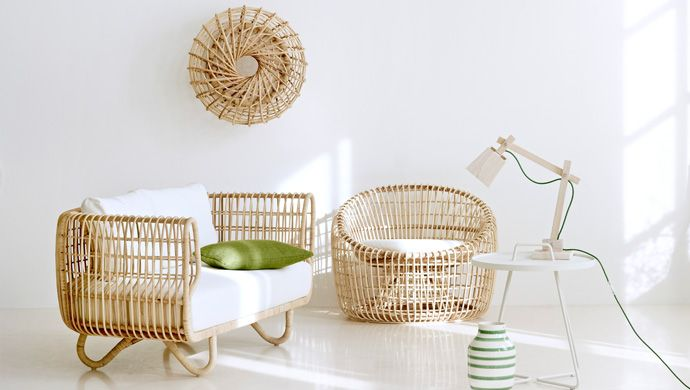 Sustainable Rattan Indoor Furniture by Cane-line | Rattan, Lounge ...