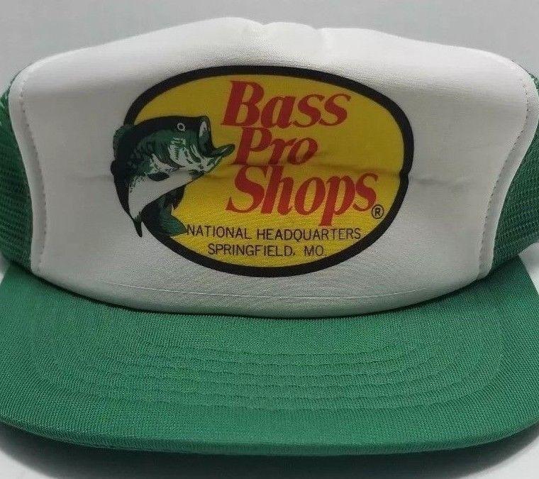4d2ac293417fa Vintage Fishing Hat- Foam Mesh Trucker Snapback - Bass Pro Shops  fashion   clothing  shoes  accessories  mensaccessories  hats (ebay link)