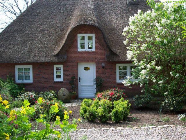 Ferienhaus Latj Hüs Zaun, Garten, Nordsee In Almdorf