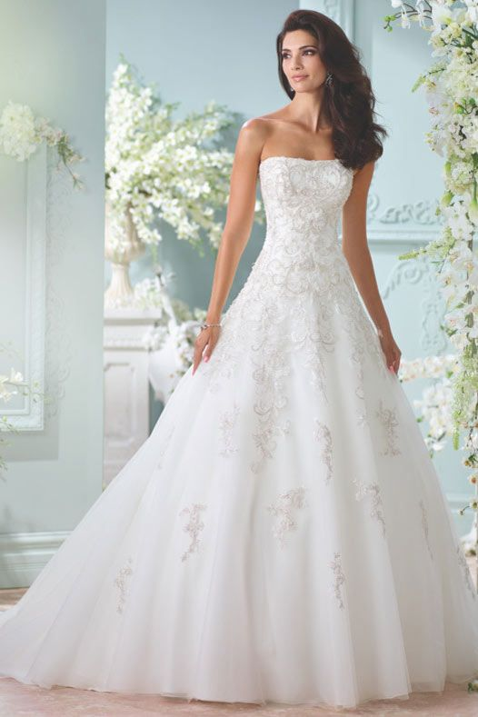 Sunniva by David Tutera for Mon Cheri | Say yes to the dress ...