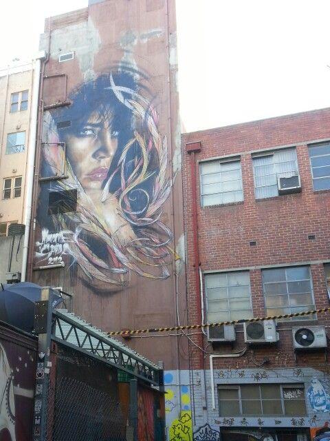 street art Melbourne,  off Lonsdale St