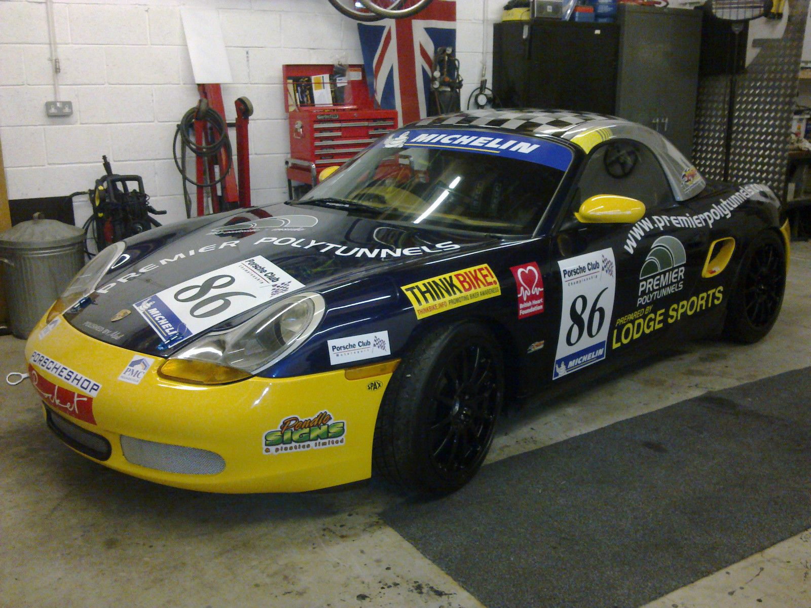 BOXSTER 986 RACE CAR