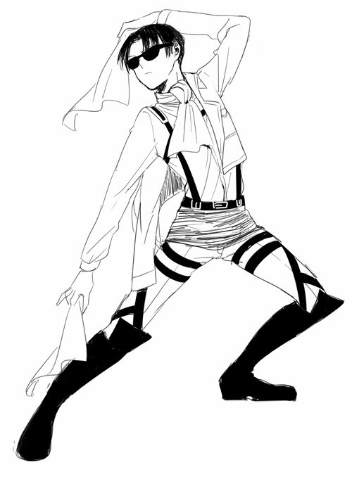 Corporal Levi From Attack On Titan Doing His Fab Pose Attack On Titan Levi Attack On Titan Meme Attack On Titan Anime