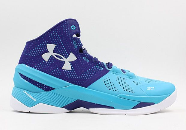 Under Armour Stephen Curry 2 Shoes Father And Son Blue YjMa3