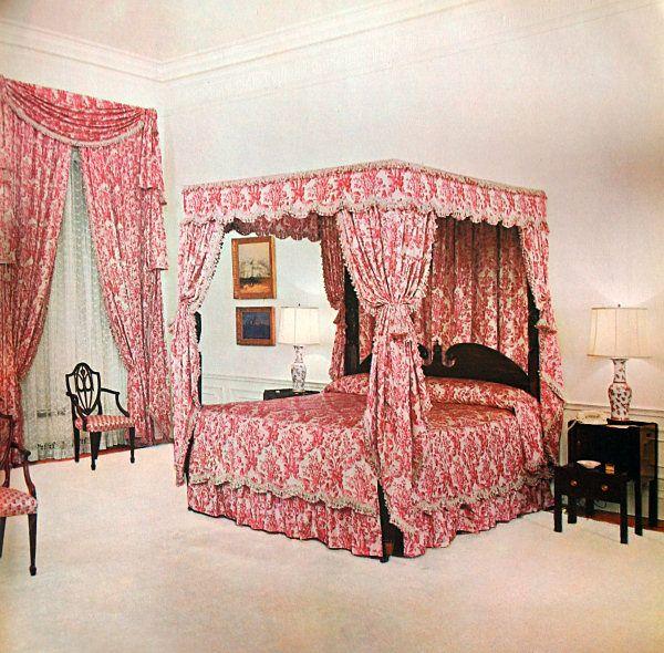 The Queens' Bedroom In 1963, Looking Northeast (White