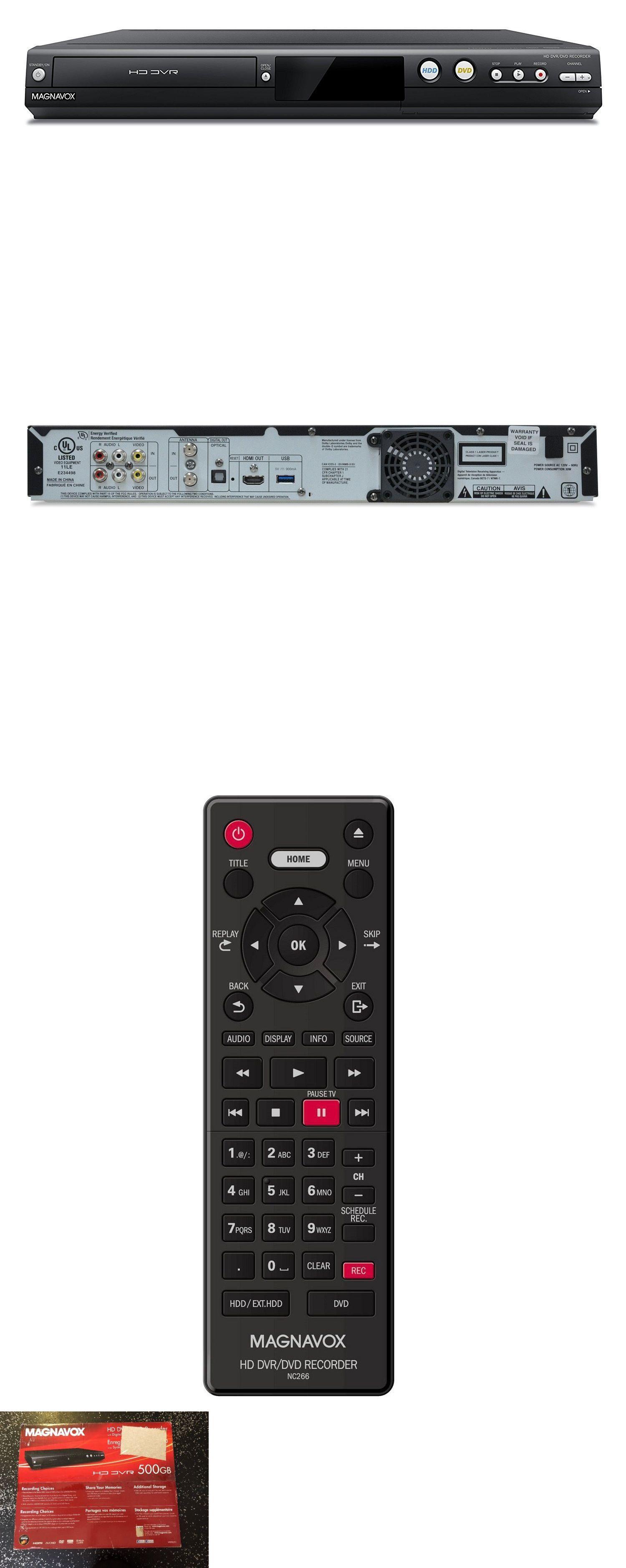DVRs Hard Drive Recorders 11725: Magnavox 1080P Dvr Dvd
