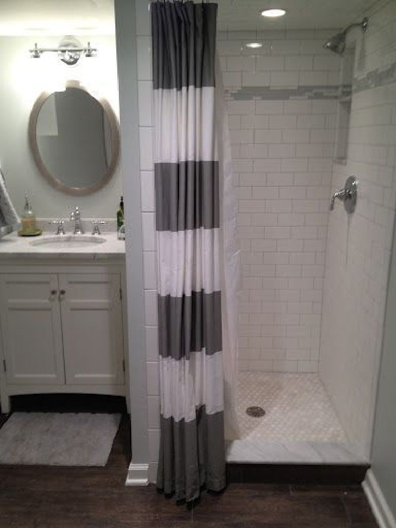 Stand Up Shower Curtain